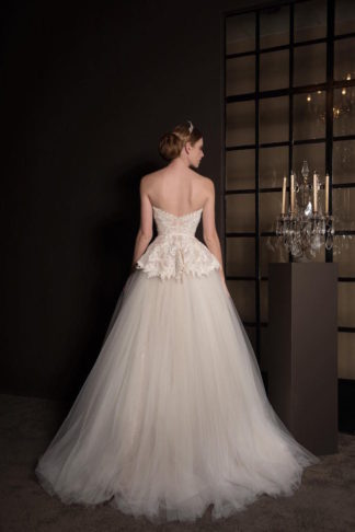 2 piece bridal gown