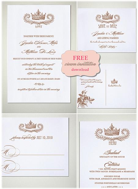 15 diy vintage wedding invitations vintage save the dates for Diy will template