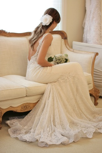 Enjoyable 15 Beautiful Backless Wedding Dresses Gowns You Need To See Short Hairstyles Gunalazisus