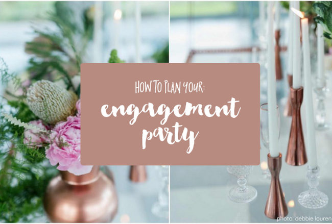 How to Plan Your Engagement Party