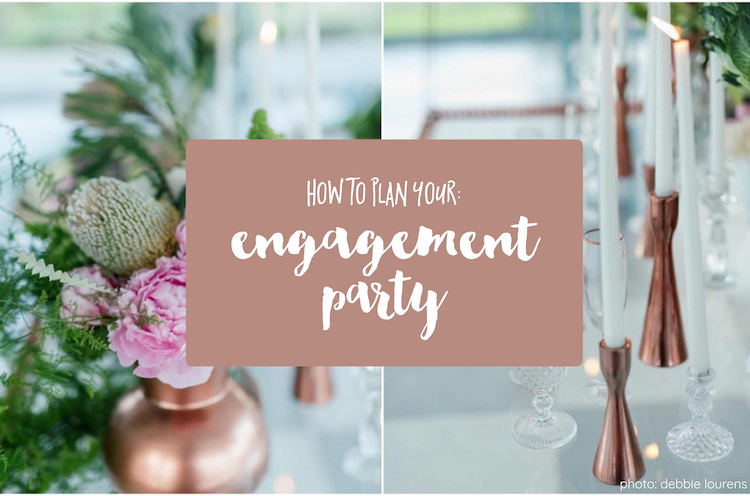 How to plan your engagement party!
