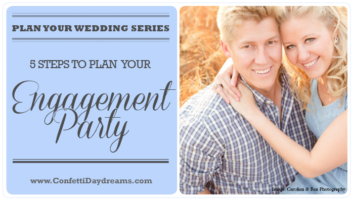 Plan Your Engagement Party