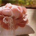 {Bridal DIY} Tulle & Chiffon Fabric Flower Tutorial