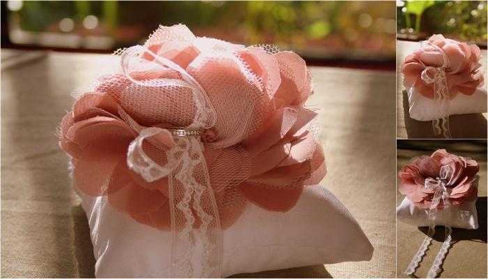 {Bridal DIY} Tulle & Chiffon Fabric Flower Tutorial