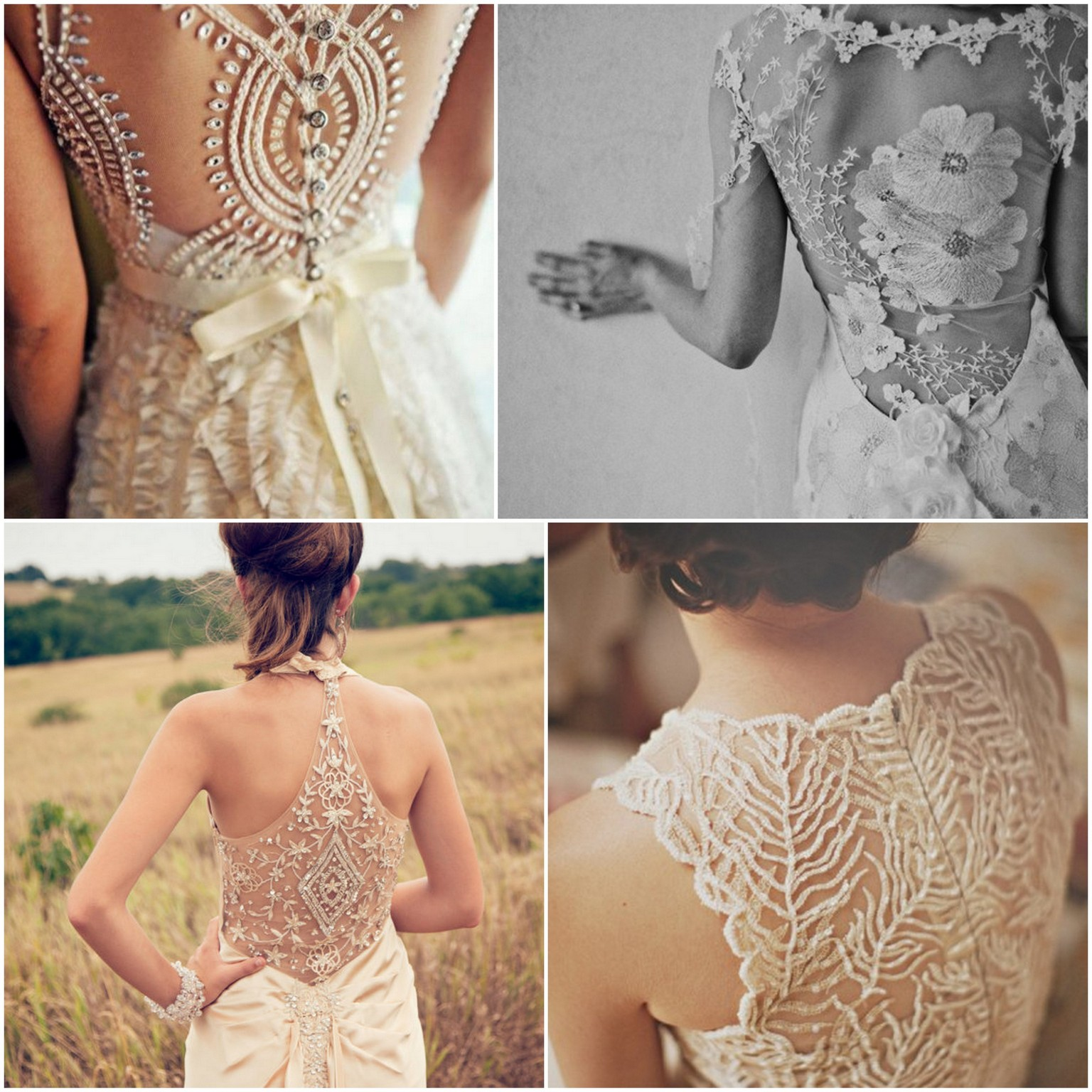 15 Lace Back Wedding Dresses Amp Gowns