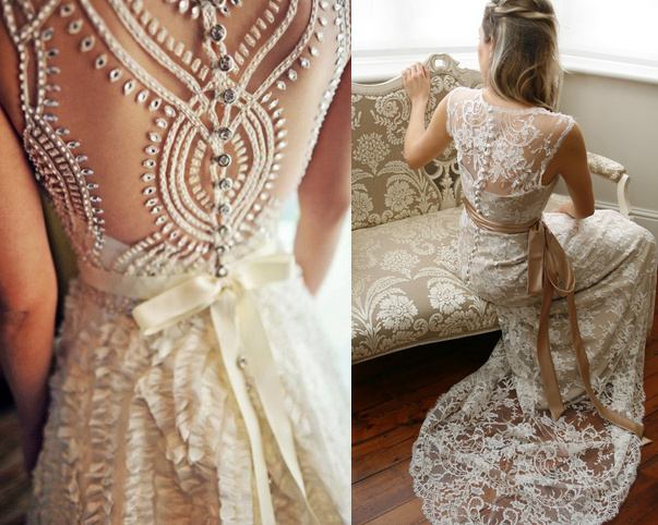 Lace back wedding dresses 18 for Wedding dresses lace back
