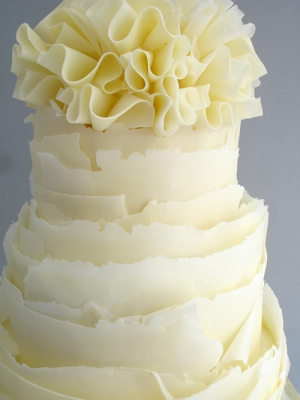 Ruffle Wedding Cake Lemon