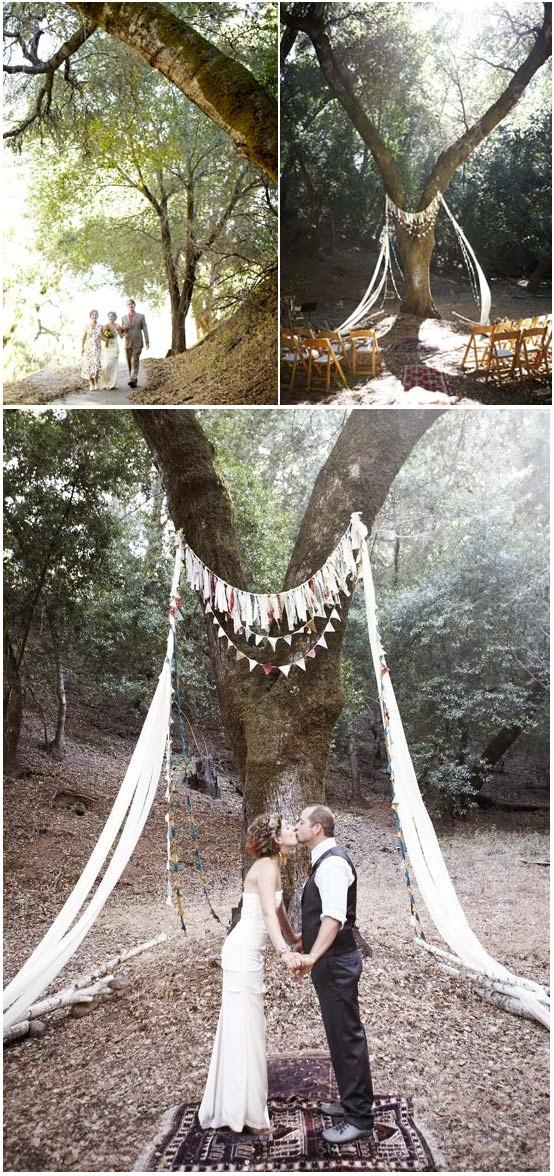15 wonderful wedding canopy arch ideas. Black Bedroom Furniture Sets. Home Design Ideas