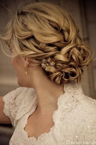 Bridal Hair} 25 Wedding Upstyles & Updo's
