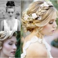 {Bridal Hair} 25 Wedding Upstyles & Updo's