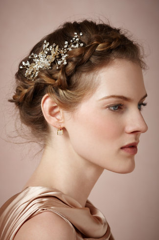 Wedding Updo Bridal Hairstyle ::