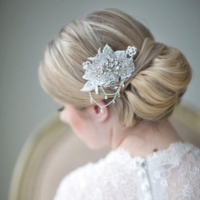 Effortless Bridesmaid Upstyles: {Bridal Hair} 25 Wedding Upstyles And Updos