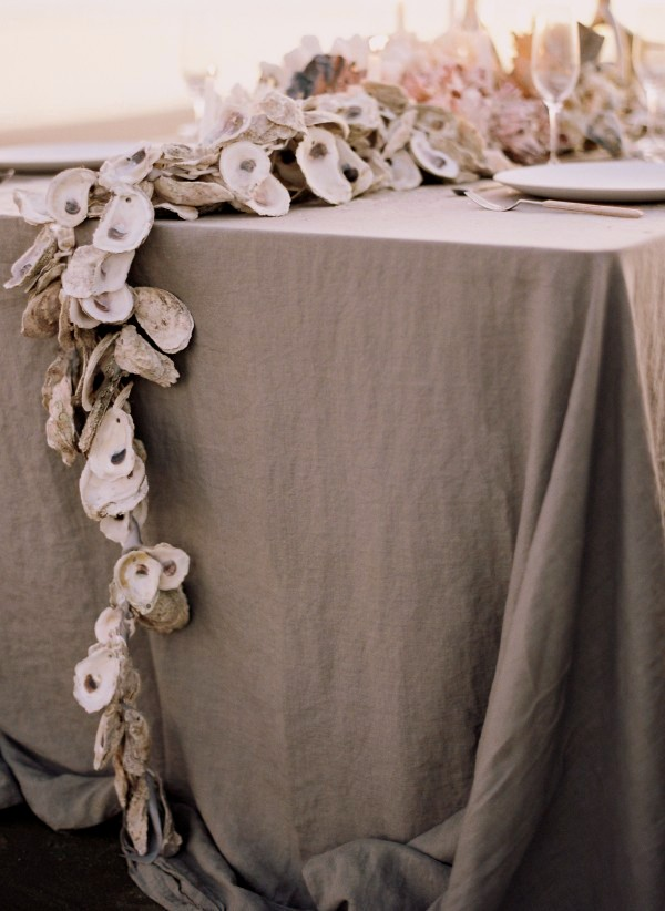 DIY Beach Wedding Inspiration Idea