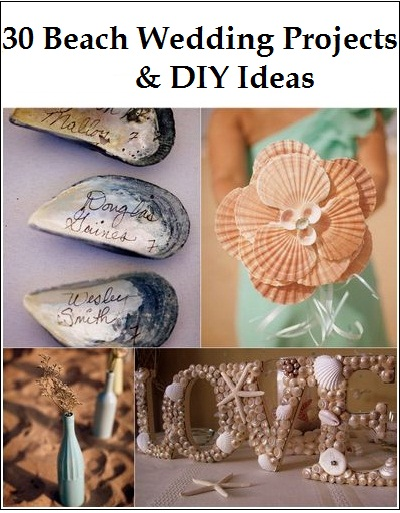DIY Beach Wedding Theme Ideas