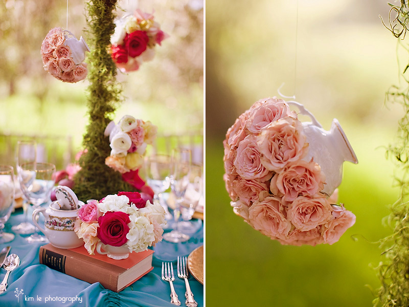 DIY Alice in Wonderland Tea Party Wedding Ideas