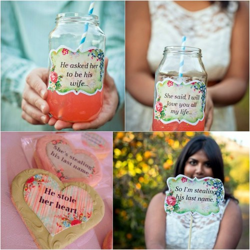 DIY Engagement Party Projects Free Printables