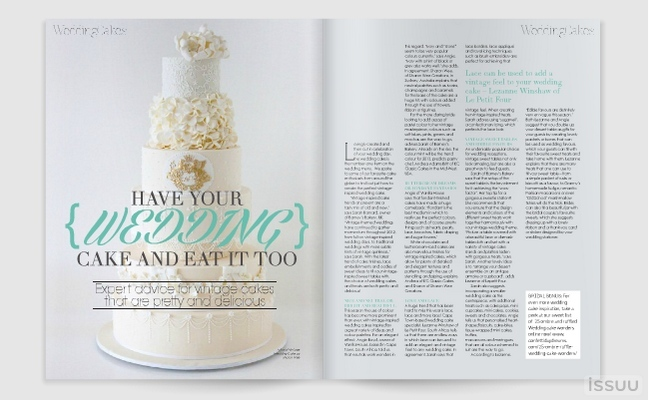 Vintage Wedding Guide & Bridal Magazine