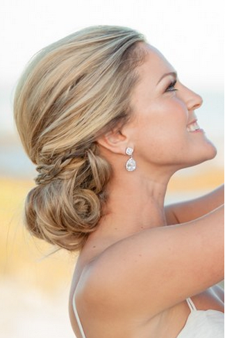 Wedding hairstyle updos