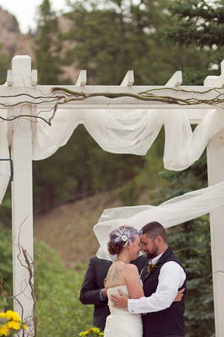 Rustic Wedding Decorations on The Rustic Colorado Wedding Reception   Diy Decor