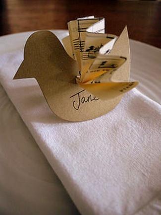DIY Love Birds Wedding Theme Ideas