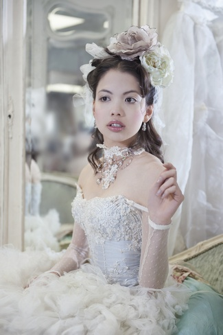 {Immagika} Wedding Gown Blue Rose