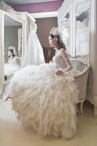 {Immagika} Wedding Gown Blue Rose