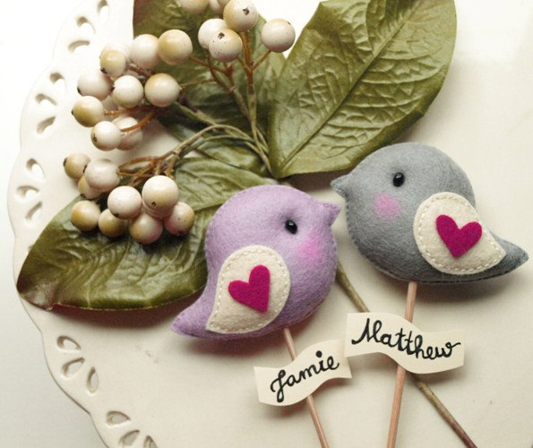 23 DIY Love Birds Wedding Theme Ideas