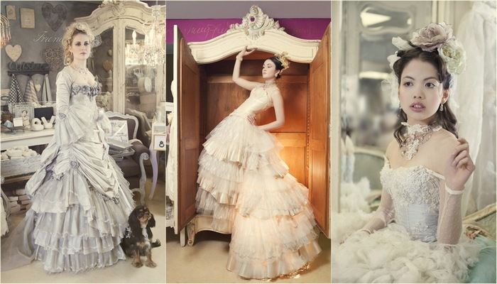 Vintage Wedding Gown Designs by Immagika