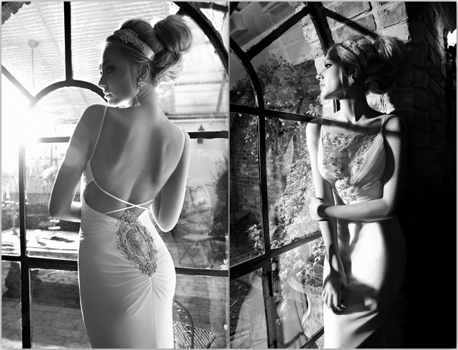 Sexy Backless Wedding Dresses and Gowns 2013