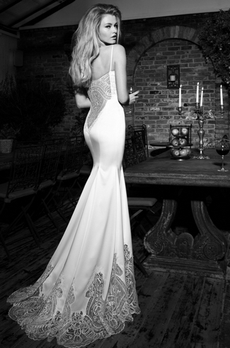 Backless Dress on Sexy Backless Wedding Dresses And Gowns For 2013   Confetti
