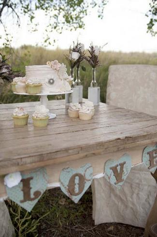 Vintage Woodlands Wedding Inspiration