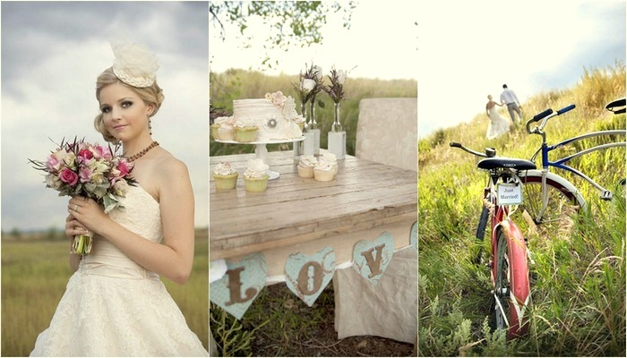 Vintage Woodlands Wedding Inspiration