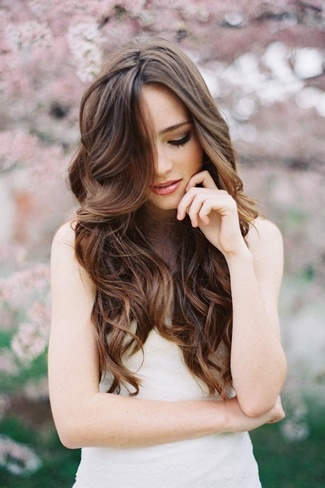 Awe Inspiring Long Hair Soft Curls Wedding Best Hairstyles 2017 Hairstyle Inspiration Daily Dogsangcom