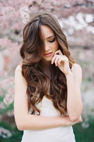 Marvelous Long Hair Soft Curls Wedding Best Hairstyles 2017 Hairstyles For Women Draintrainus