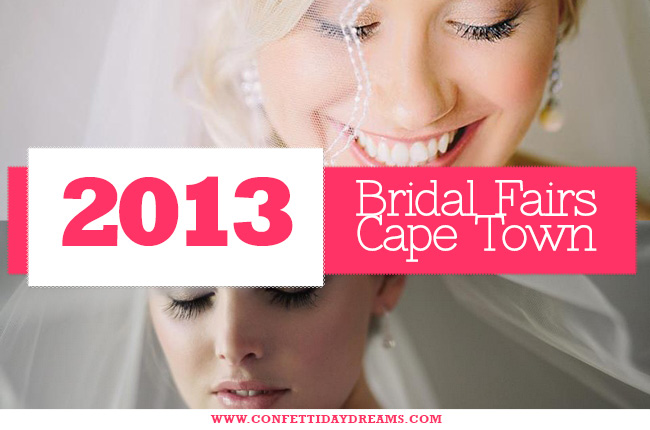 2013 Bridal Fairs Cape Town