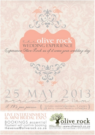 2013 Cape Town Bridal and Wedding Expos - Olive Rock Wedding Experience