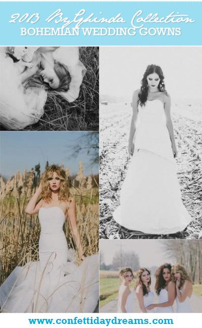 Confetti Bohemian Bride  2013 Wedding Dress Collection ByGhinda