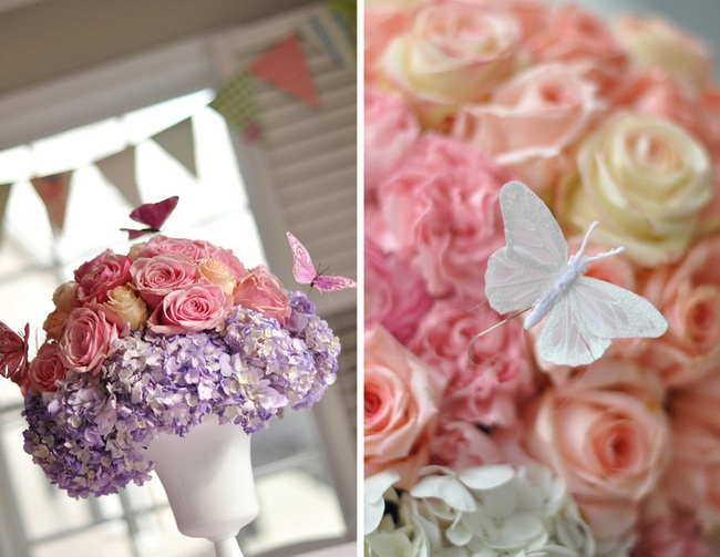 DIY Butterflies Wedding Theme & Ideas