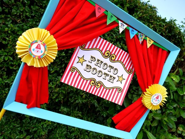 DIY Carnival Theme Wedding Idea