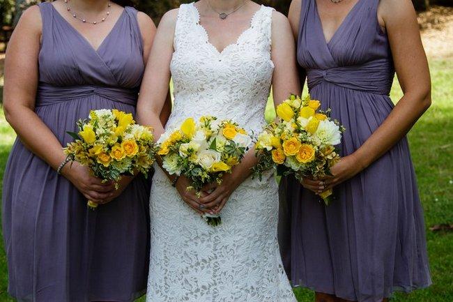 Lime Green and Yellow Handmade Wedding