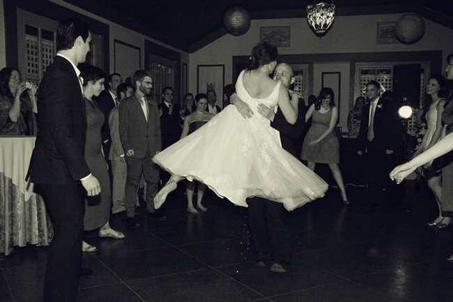 New York Indie Wedding with Retro Flair