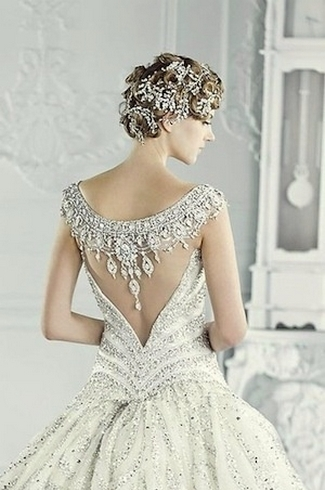 21 Portrait & Illusion Back Wedding Dresses & Gowns