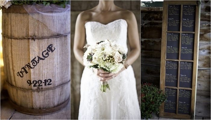 Rustic New York Barn Wedding {Real Bride}
