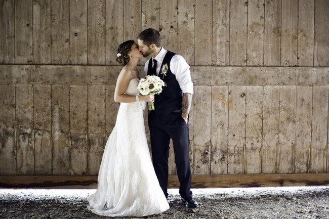 The Autumn Fires of Love - Rustic New York Real Wedding