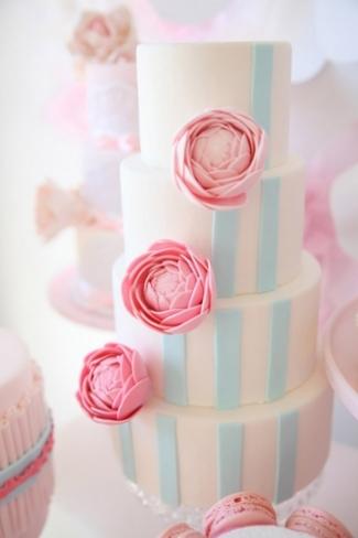 17 Peony Wedding Cakes