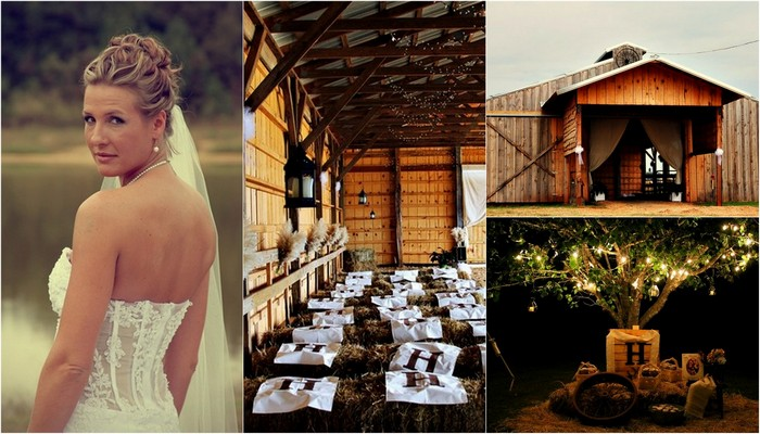 Country Style Barn Wedding, South Carolina {Real Bride}