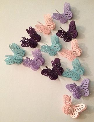 DIY Butterfly Wedding Ideas