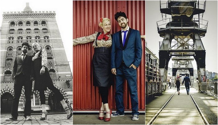 Swing Dance in the City {Bristol E-Shoot}