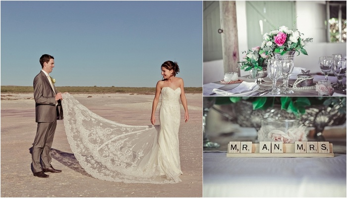 Handmade Rustic Beach Wedding {Strandkombuis Beach}