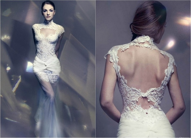 Lace Wedding Dresses from the Bridal Runways  Wedding